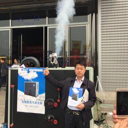 100kg生物质颗粒蒸汽锅炉免检节能全自动立式小型蒸汽发生器
