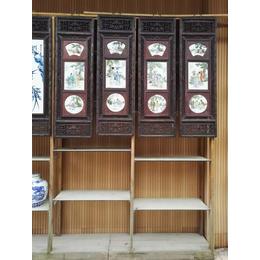 供应景德镇高温瓷板画 手绘青花瓷板画