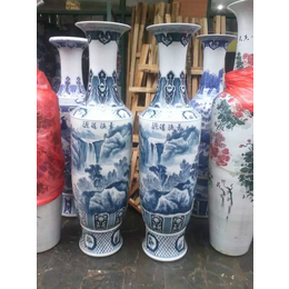 供应手工陶瓷大花瓶 青花大花瓶厂家直销