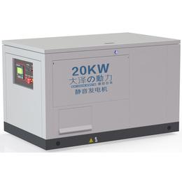 20千瓦进口汽油发电机组