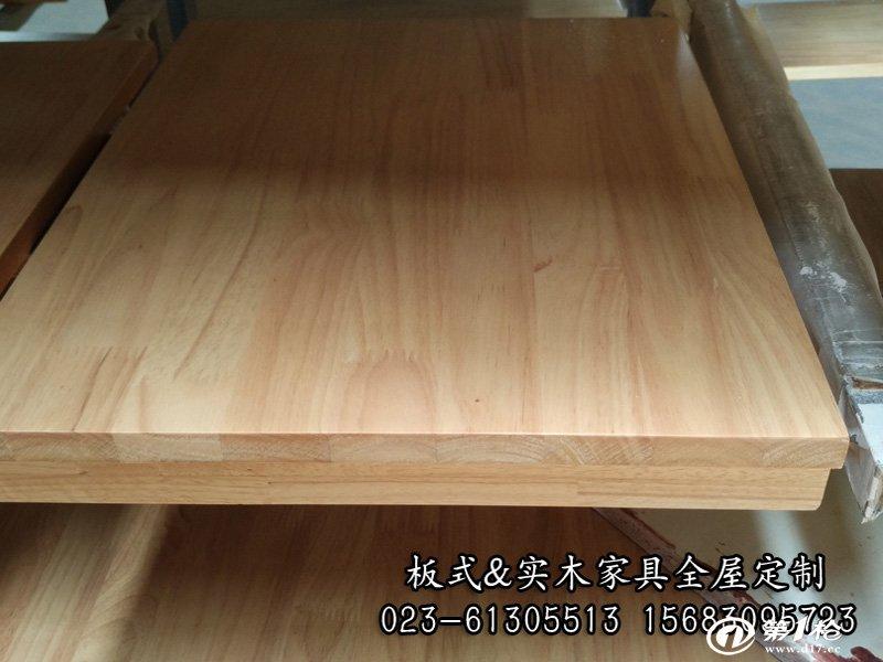 重庆明伟家具厂专业定制橡胶木衣柜