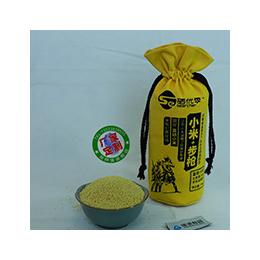 黄金小米袋-束口米布袋-棉布袋定做-棉布袋厂家