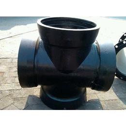 厂家直销三维球墨铸铁管件--全承四通