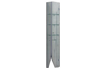 FRAE福瑞淋浴房三层置物架玻璃置物架