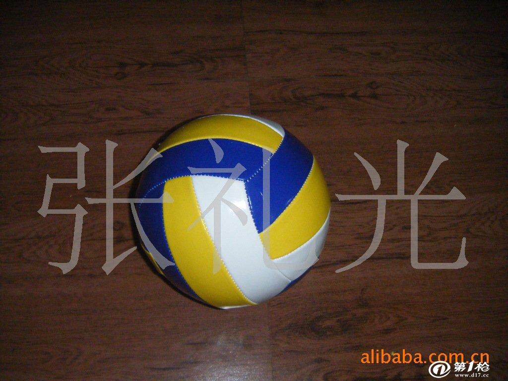 厂家直销各种花纹的pvc皮革足球排球