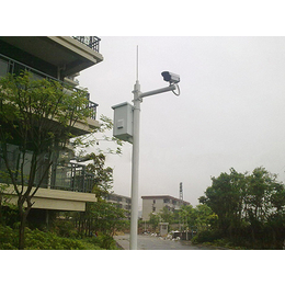 重庆监控立杆价格 3米5米小区立杆 枪机球机立杆定做厂家