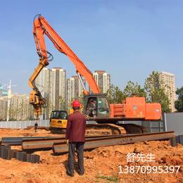 伟腾平安国际乐园挖掘机工程