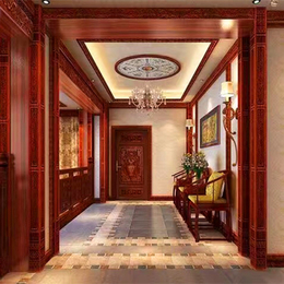 轩源红木室内装饰精致工艺案例
