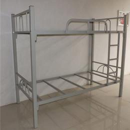 供应康胜家具广州双层双人铁床防锈耐用可定做广州宿舍双层铁架床