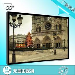 深圳京孚光电厂家直销55寸液晶监视器尺寸LED显示器安防专用