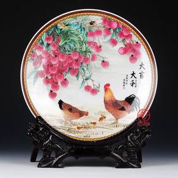 订做景德镇陶瓷纪念盘