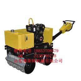为长久抓质量FST-S600手扶式双轮压路机小型振动碾厂家.
