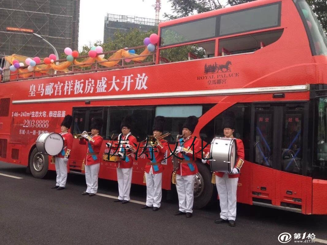 上海双层敞篷观光巴士出租都市巴士巡游出租