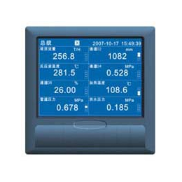 福建上润WP-R301C 蓝屏无纸记录仪   上润记录仪