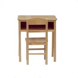实木单人课桌椅幼儿园学生学校课桌缩略图