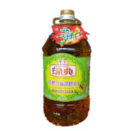 绿典压榨芝麻菜籽油5L