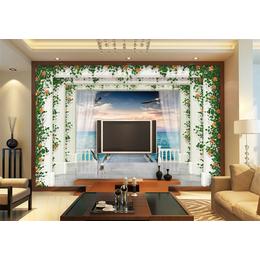 艺术瓷砖玻璃背景墙彩印3d雕刻uv广告影视墙uv平板打印机