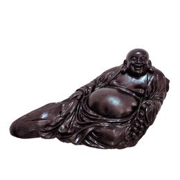 古沉木雕刻艺术品JXLYQ00002 笑佛