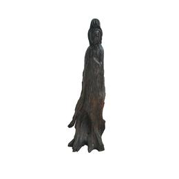 古沉木雕刻艺术品JXLYQ00008 观音