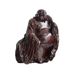 古沉木雕刻艺术品JXLYQ00017 笑佛