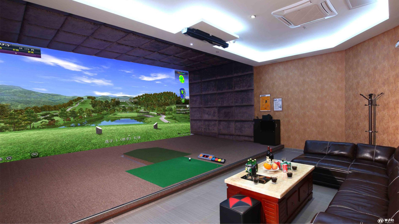 greenjoy衡泰信城市室内高尔夫模拟器系统q7