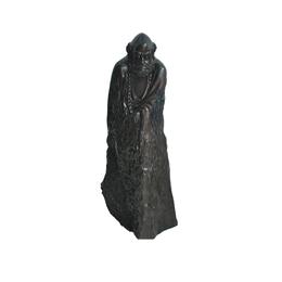 古沉木雕刻艺术JXLYQ00038 达摩祖师