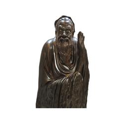 古沉木雕刻艺术JXLYQ00100 孔子