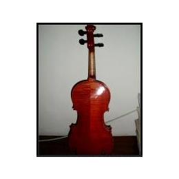 纯手工拼板虎纹小提琴