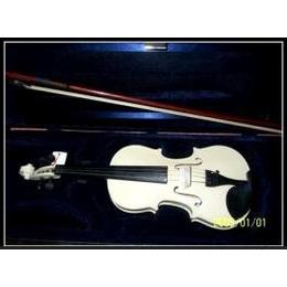 彩色普及小提琴(白色)