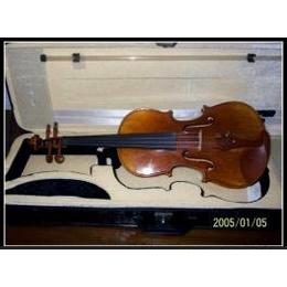 纯手工色木拼板细虎纹高级小提琴