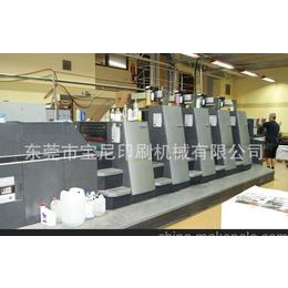 海德堡四开四色加过油CD74-4+LX印刷机