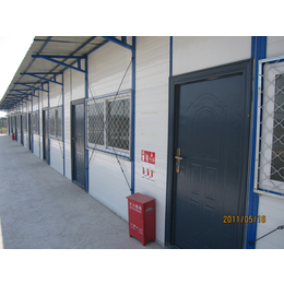供应岩棉防火北京彩钢房 厂家焊接式工地防风活动房