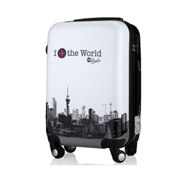 骏仕旅行箱行李箱万向轮男女拉杆箱学生铝框个性密码箱潮缩略图