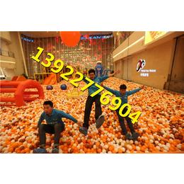 广西南宁室内儿童乐园大型百万海洋球池大滑梯设备哪里有做缩略图
