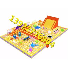 广西柳州室内儿童乐园大型百万海洋球池大滑梯设备哪里有做缩略图