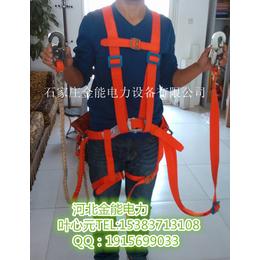 山西金能冲天牛JN-AQD安全带电工单腰带但带双保险安全带