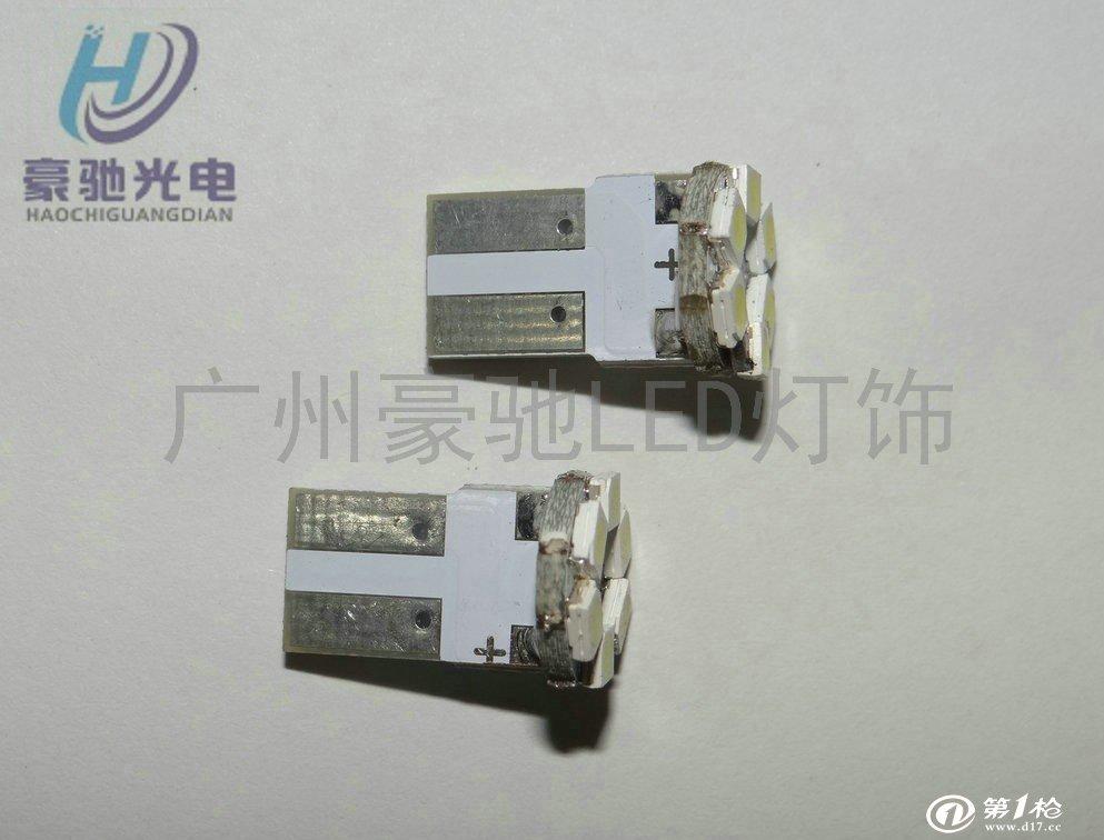 汽车led 电路板t10-6smd-1210 仪表灯/阅读灯/示宽灯