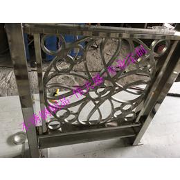 不锈钢黑钛金屏风隔断 佛山伟天盛不锈钢制品