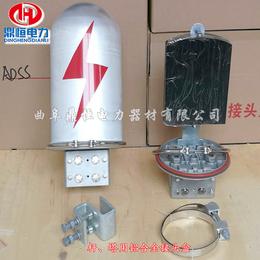 光缆接头盒与杆用余缆架连接安装图片   金属接线盒
