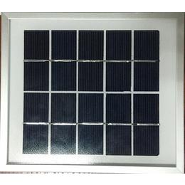 厂家订制单多晶太阳能板路灯专用光伏户外发电太阳能玻璃层板