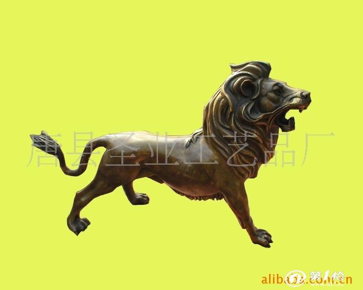 供应铜雕狮子,汇丰狮,欧洲狮,门狮
