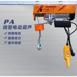 纯铜电机制造微型电动葫芦 河北悍象PA微型电动葫芦厂家