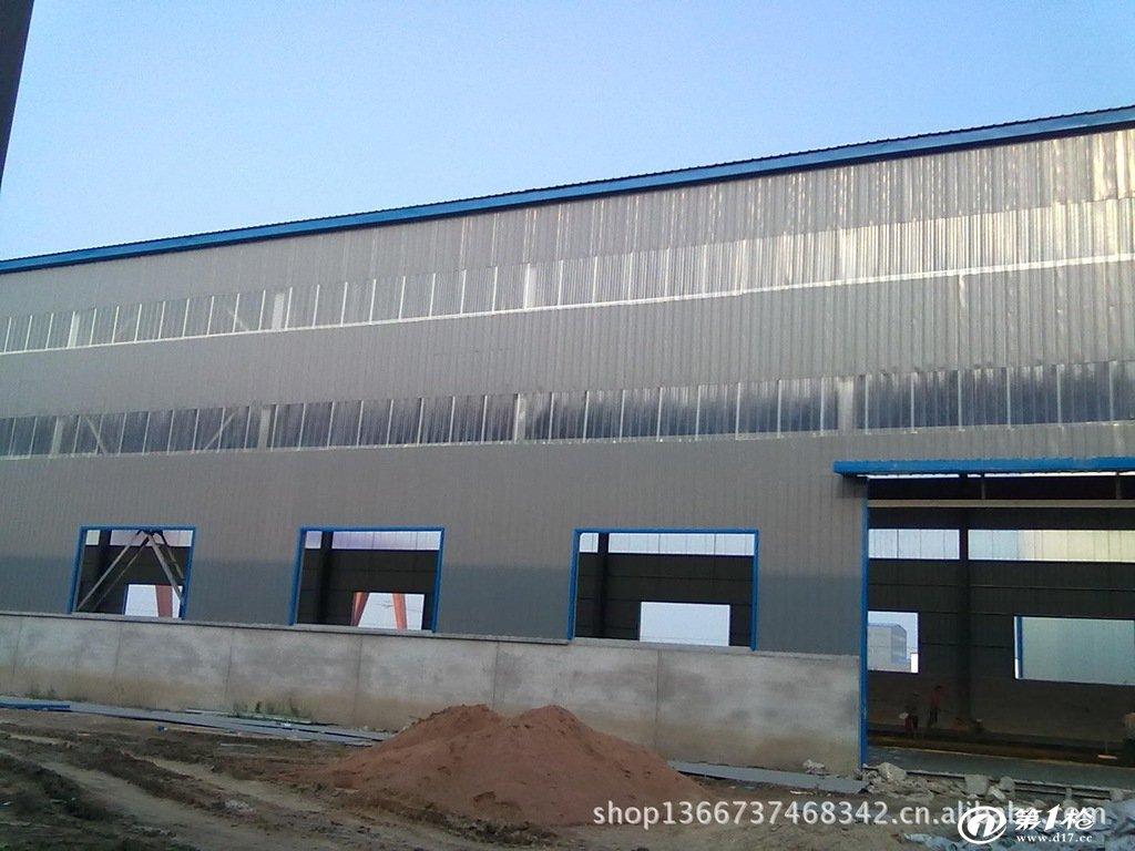 建筑业 工程承包 唐山 唐山钢结构 拱形屋顶 钢结构车间