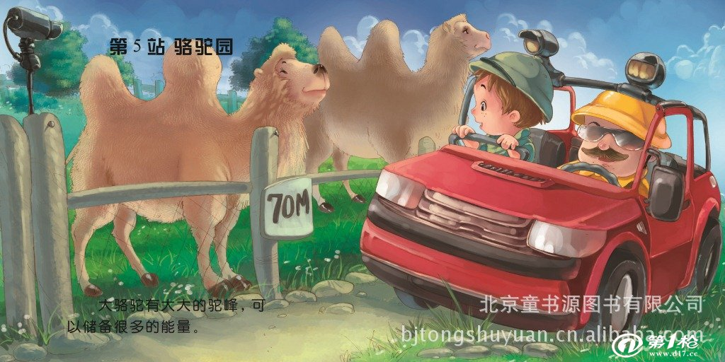 儿童彩色绘本图书《走进动物园》2013年新款少儿书籍