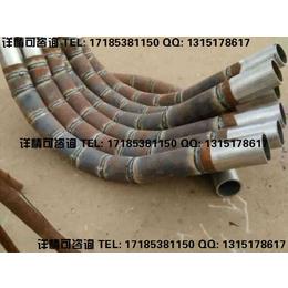 钢铁行业磨削性大的物料输送用陶瓷复合管