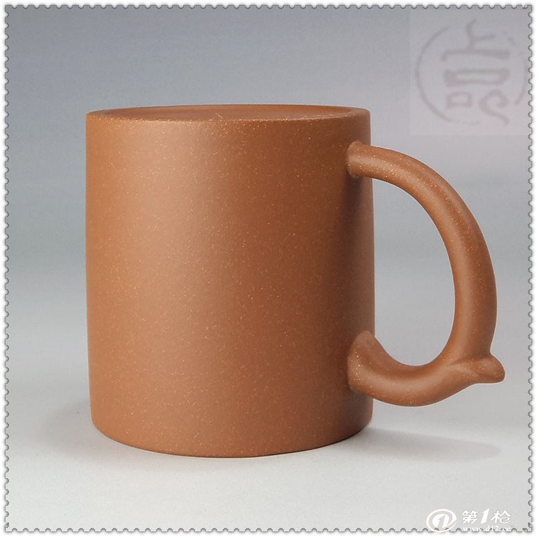 厂家直销/批发 450ml双色盖杯 正宗宜兴紫砂盖杯      岂如阳羡溪头一