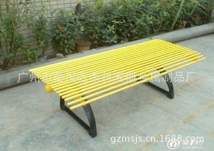 热卖钢板烤漆园林休闲椅 公园座椅 园林户外椅