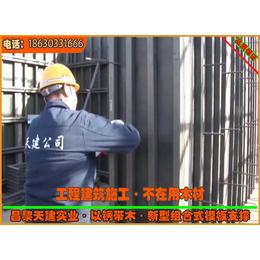 供应辽宁组合模板新型剪力墙模板支撑冷轧方钢加固系统