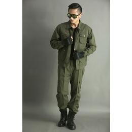 新款<em>户外</em>服装作训服军绿色男式套装
