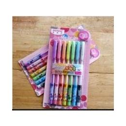 加量款7色七支套装 DIY手工相册用粉彩荧光笔 影集签字笔记录笔